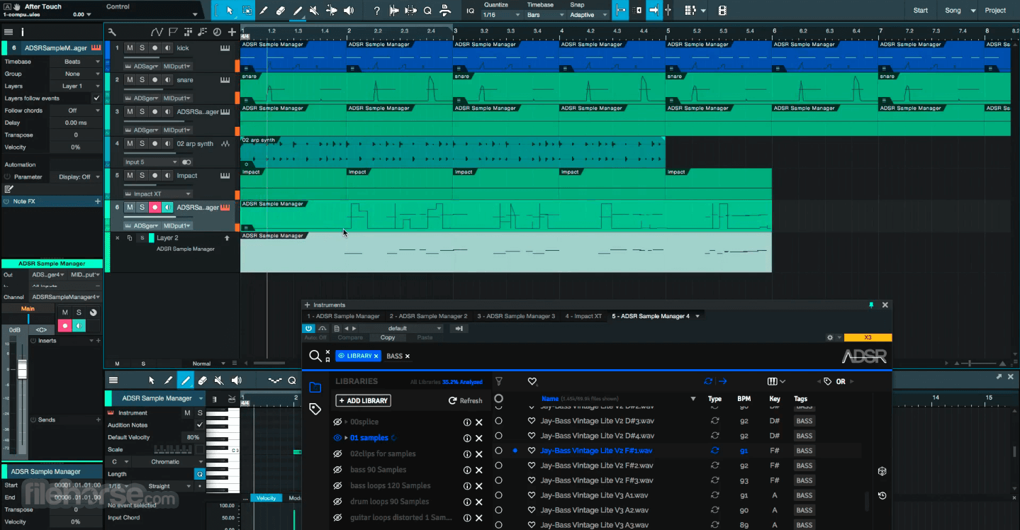ADSR Sample Manager 1.51 Screenshot 5