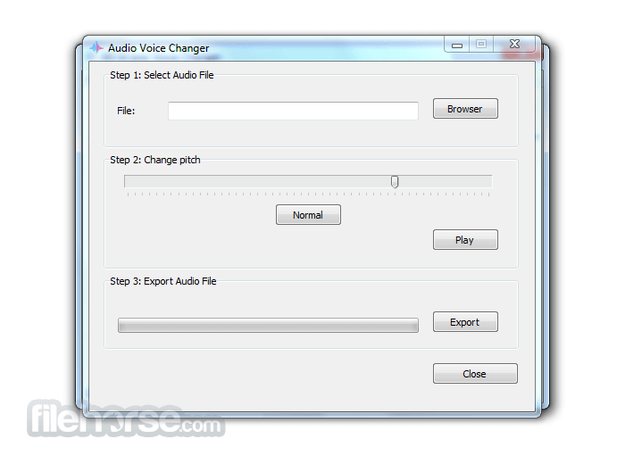 All-In-One Voice Changer 1.5 Screenshot 2