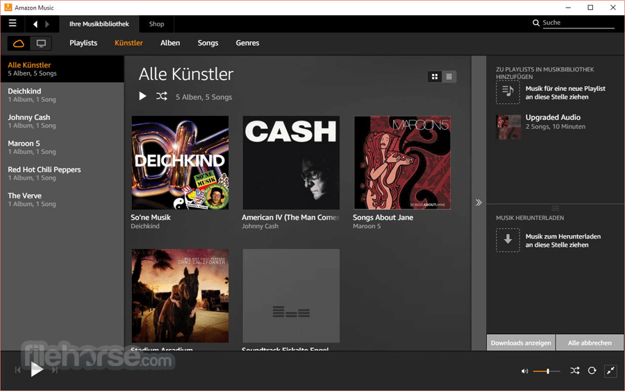 Amazon Music 5.4.2.1801 Screenshot 2
