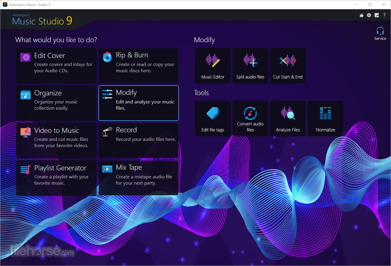 Ashampoo Music Studio 7.0.2 Captura de Pantalla 3