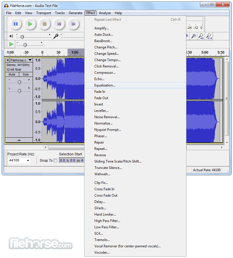 Audacity 2.3.0 Screenshot 2