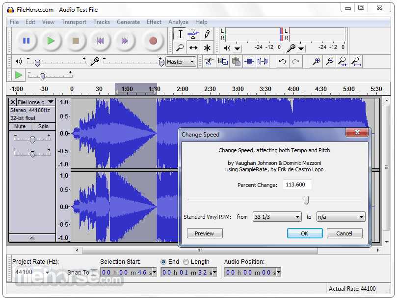 Audacity 2.3.0 Screenshot 3