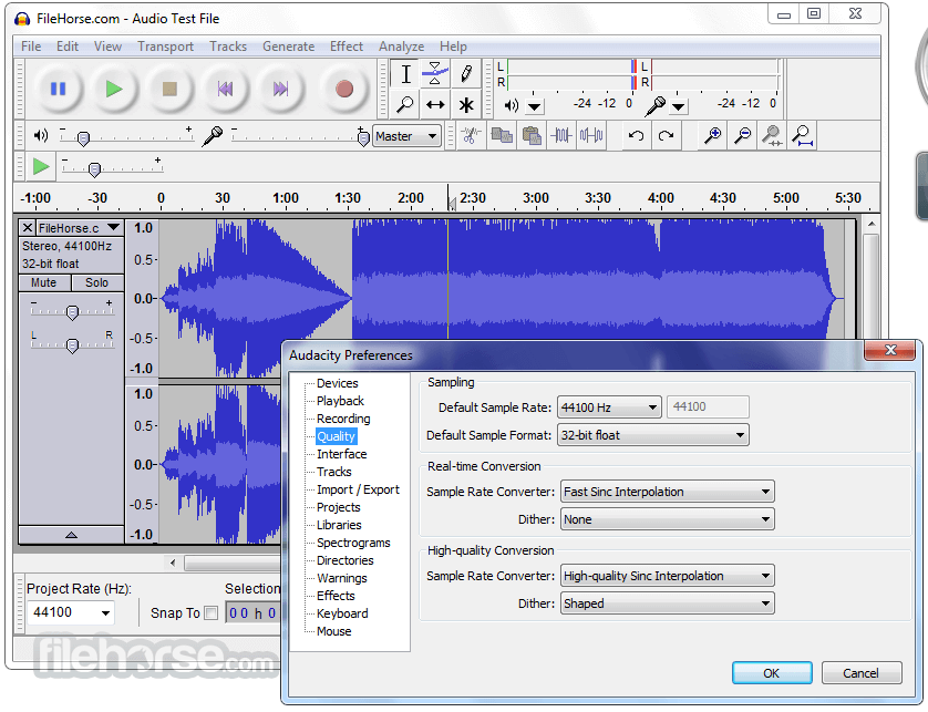 Audacity 2.3.0 Screenshot 4