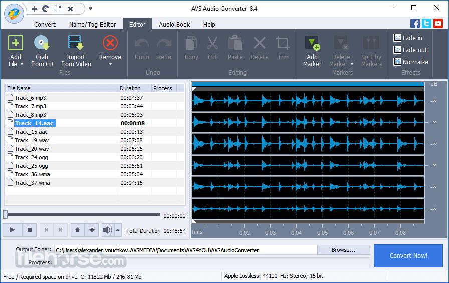 AVS Audio Converter 10.0.1.607 Screenshot 2