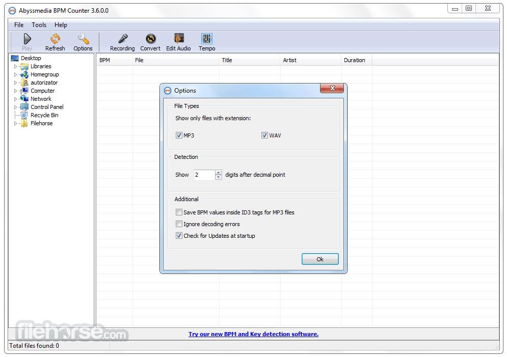 AbyssMedia BPM Counter 3.6 Screenshot 2
