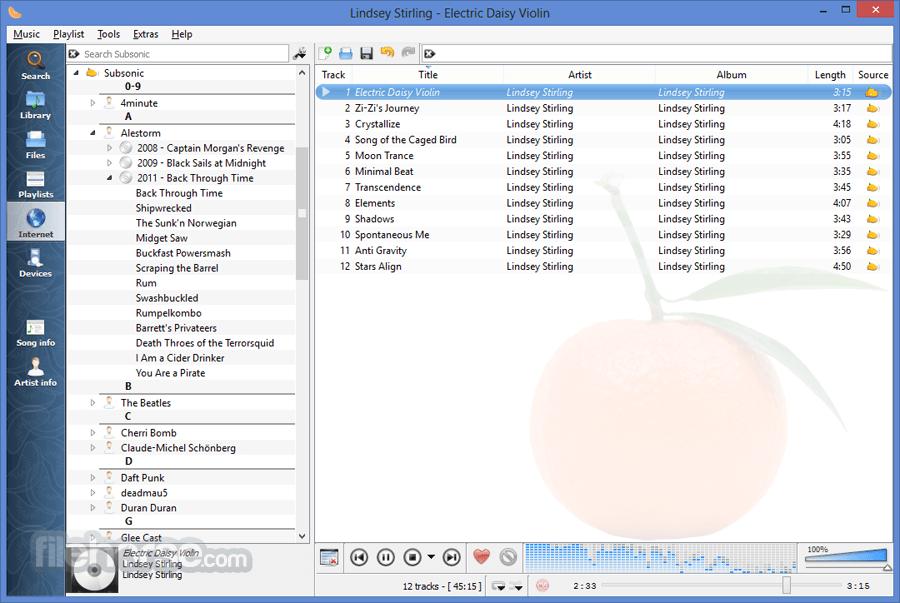 Clementine 1.3.1 Screenshot 1