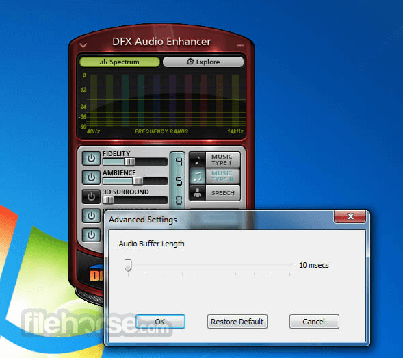 DFX Audio Enhancer 12.023 Screenshot 2