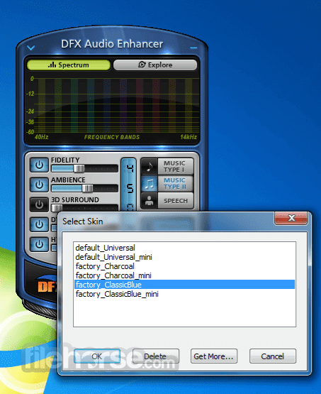 DFX Audio Enhancer 12.023 Screenshot 3