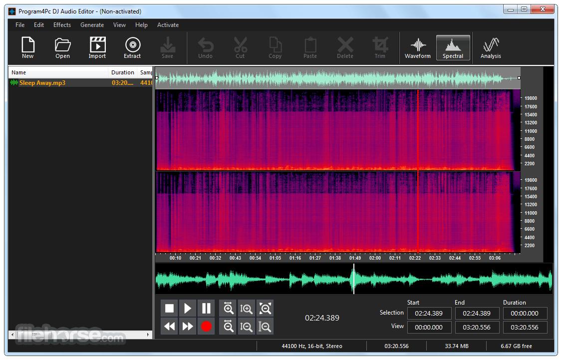 DJ Audio Editor 8.2 Captura de Pantalla 1