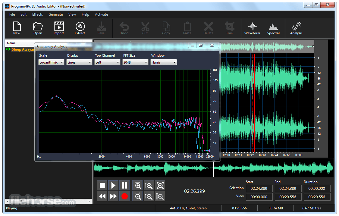 DJ Audio Editor 8.2 Captura de Pantalla 4