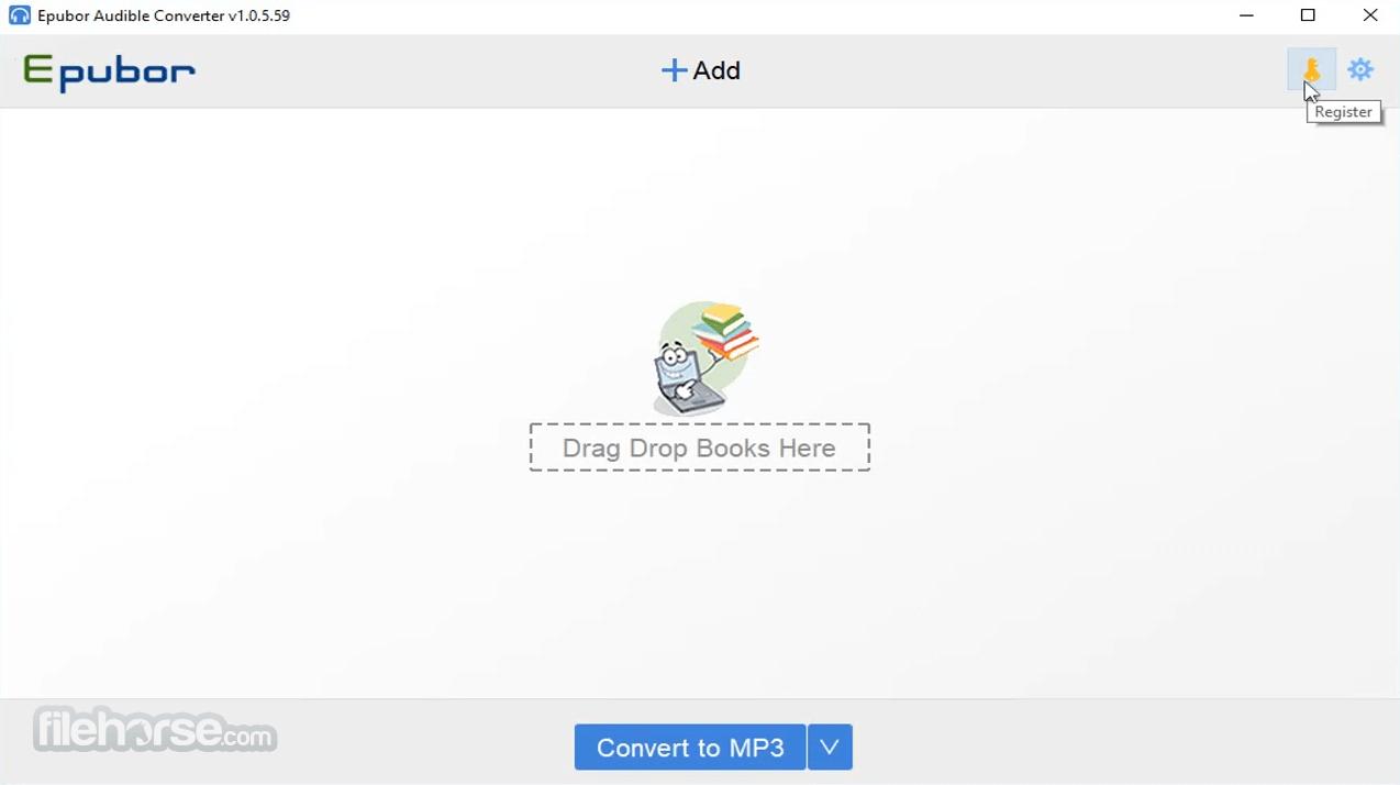 Epubor Audible Converter 1.0.6.65 Captura de Pantalla 1