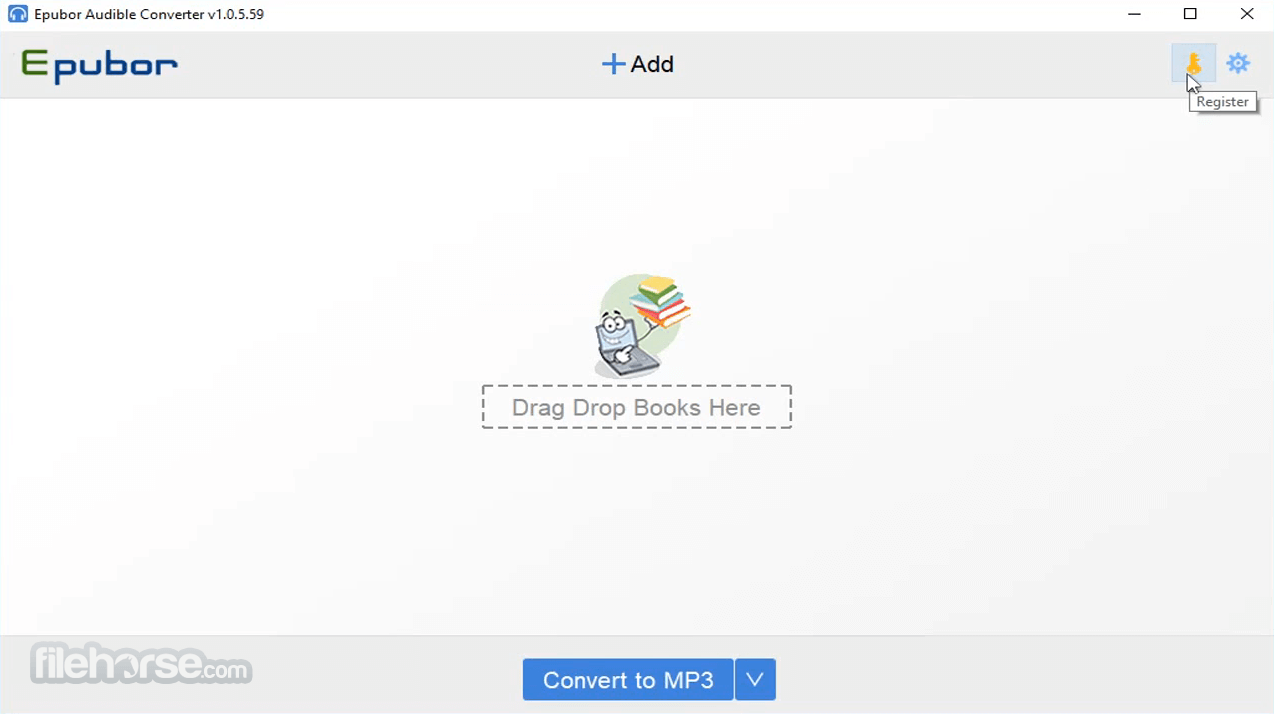 Epubor Audible Converter 1.0.6.65 Screenshot 1