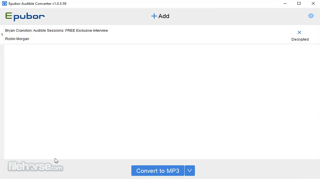 Epubor Audible Converter 1.0.5.59 Screenshot 3