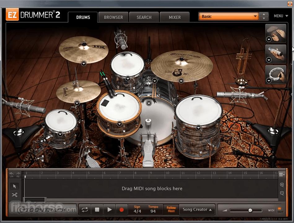 EZdrummer 2.1.8 Screenshot 3