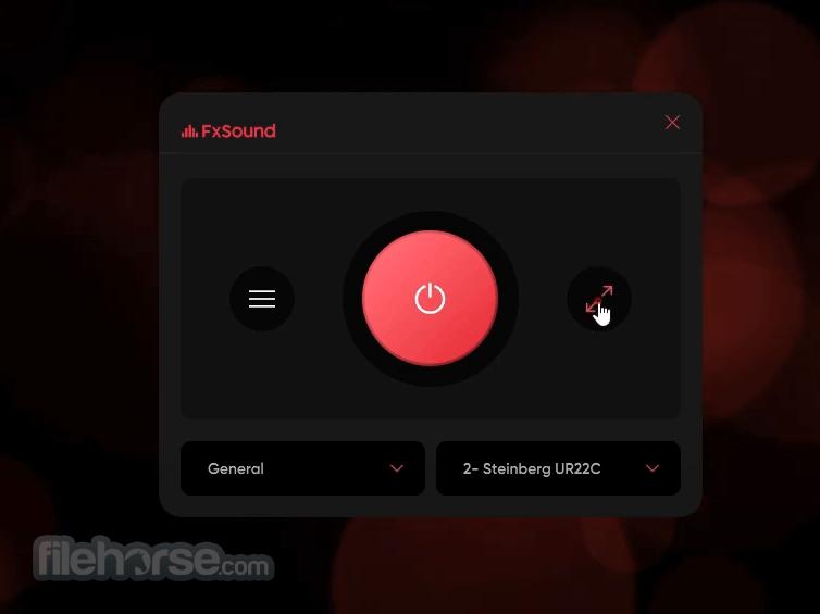 FxSound 1.1.11.0 Captura de Pantalla 4