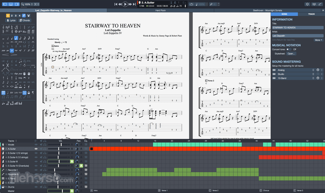 Guitar Pro 7.5.1 Build 1454 Screenshot 1