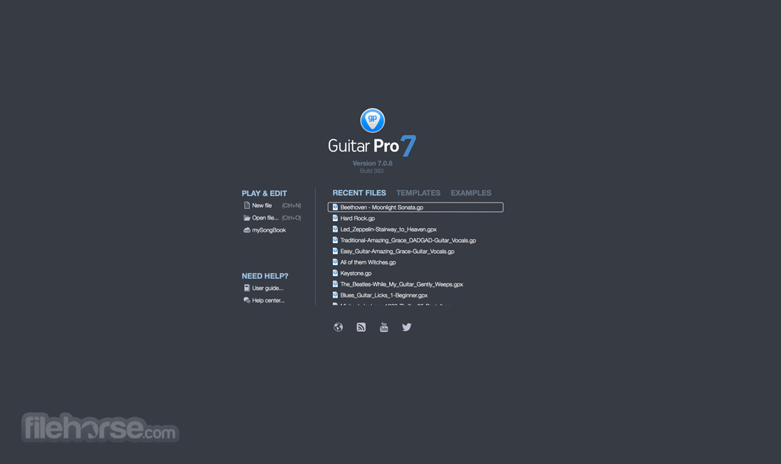 Guitar Pro 7.5.0 Build 13450 Captura de Pantalla 2