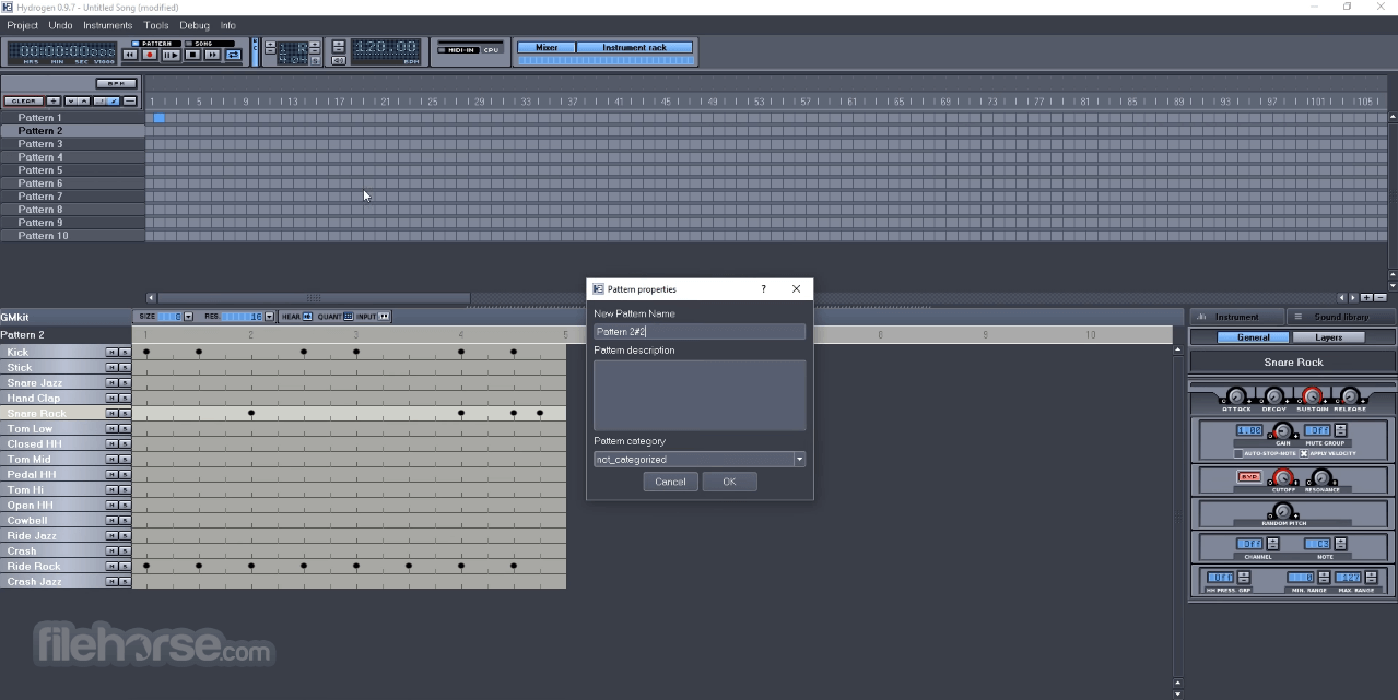Hydrogen 1.0.1 (64-bit) Screenshot 2