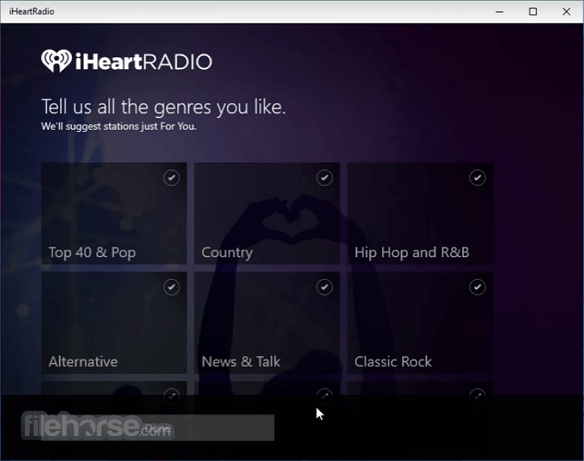 iHeartRadio 6.0.47 Screenshot 1