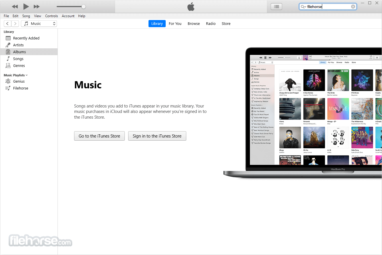 iTunes 12.7.5 (32-bit) Captura de Pantalla 1