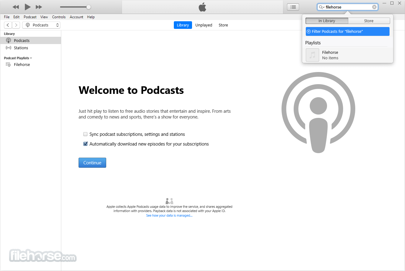 iTunes 12.7.5 (32-bit) Captura de Pantalla 2