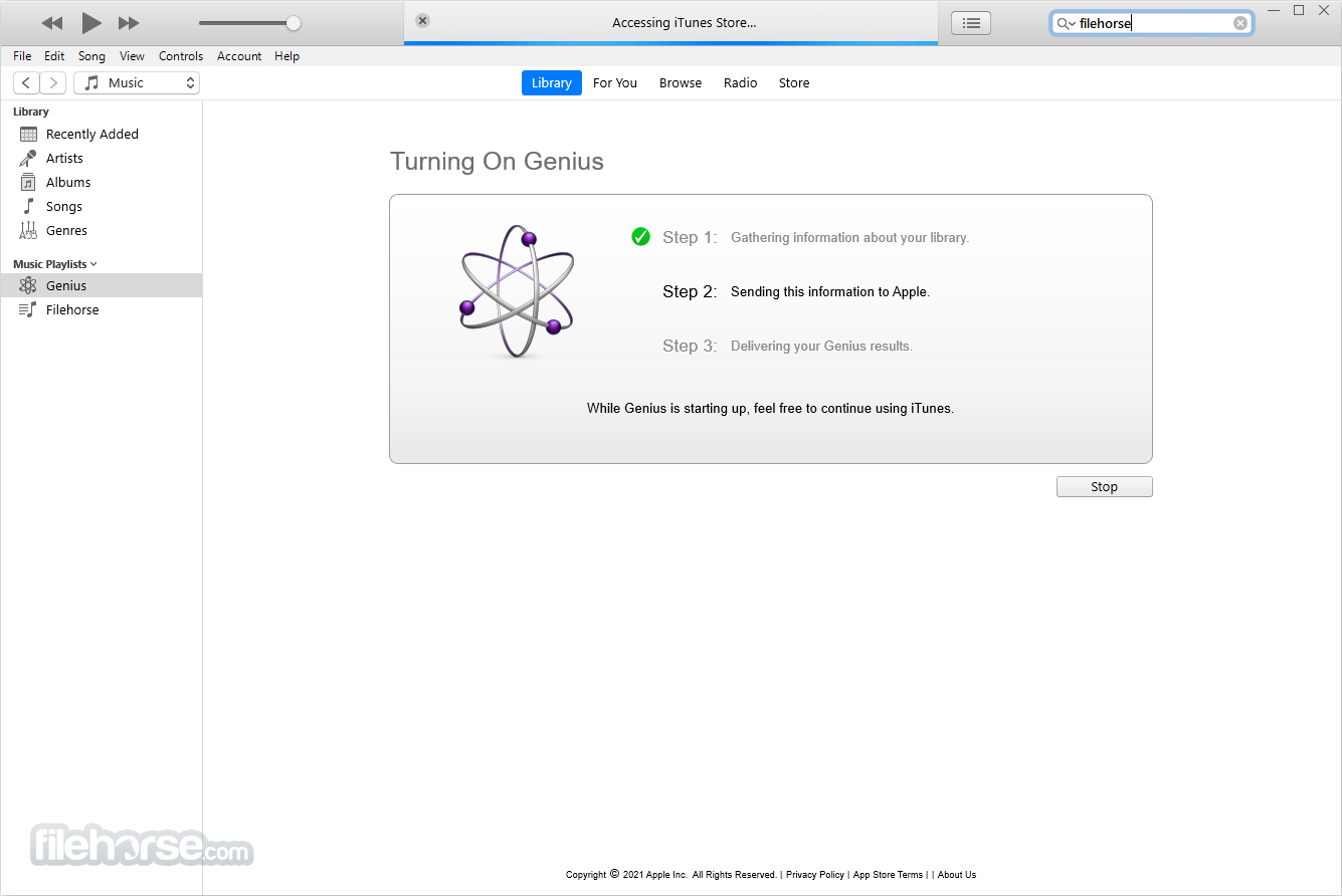 iTunes 12.7.5 (32-bit) Captura de Pantalla 3