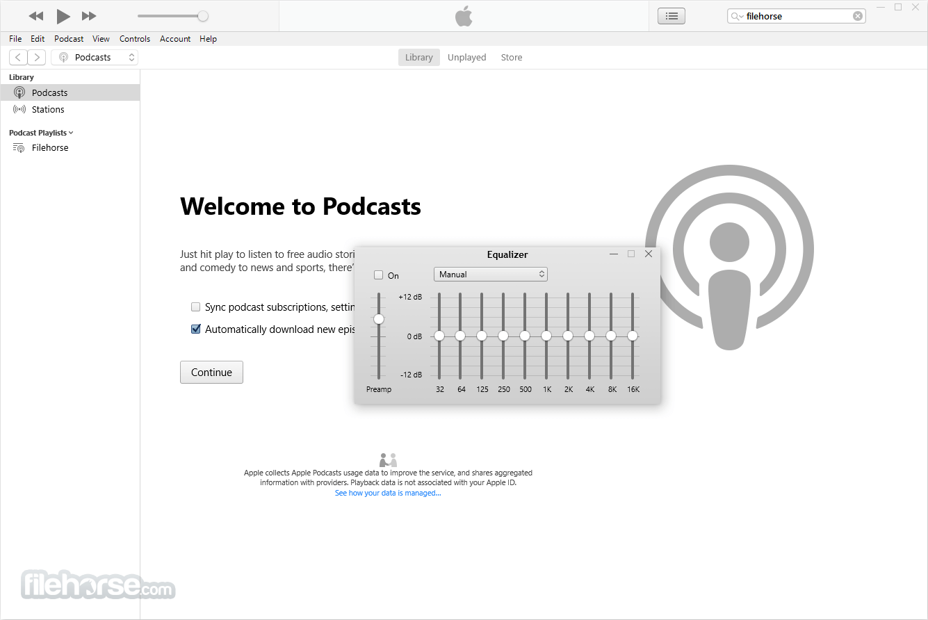 iTunes 12.7.5 (32-bit) Captura de Pantalla 4