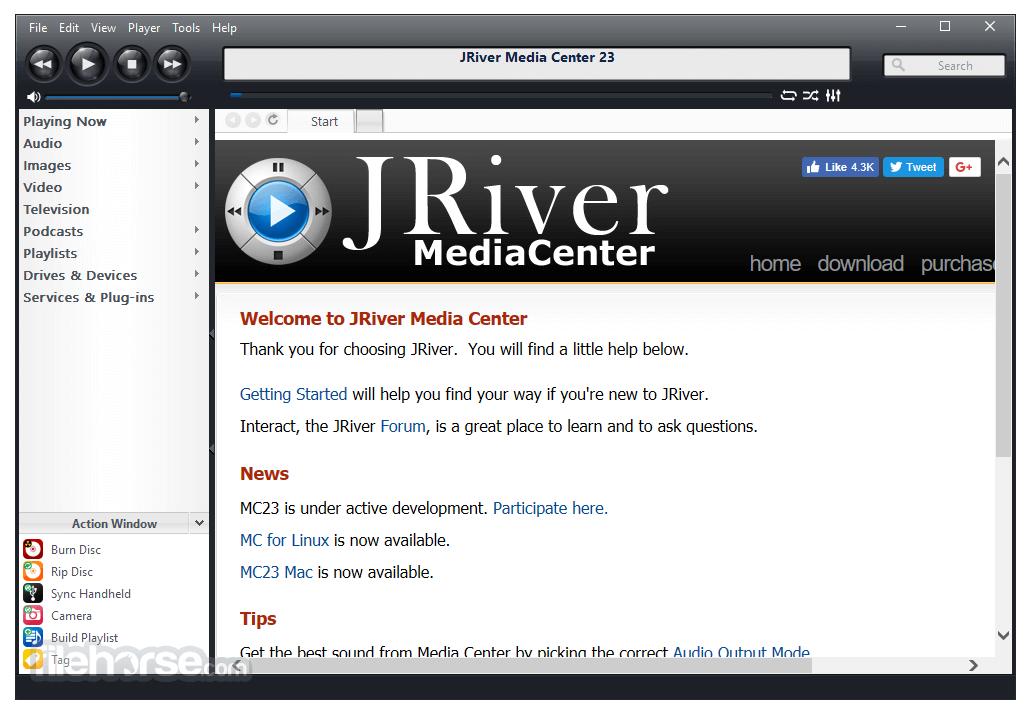 J  River Media Center (32-bit) Download (2019 Latest) for