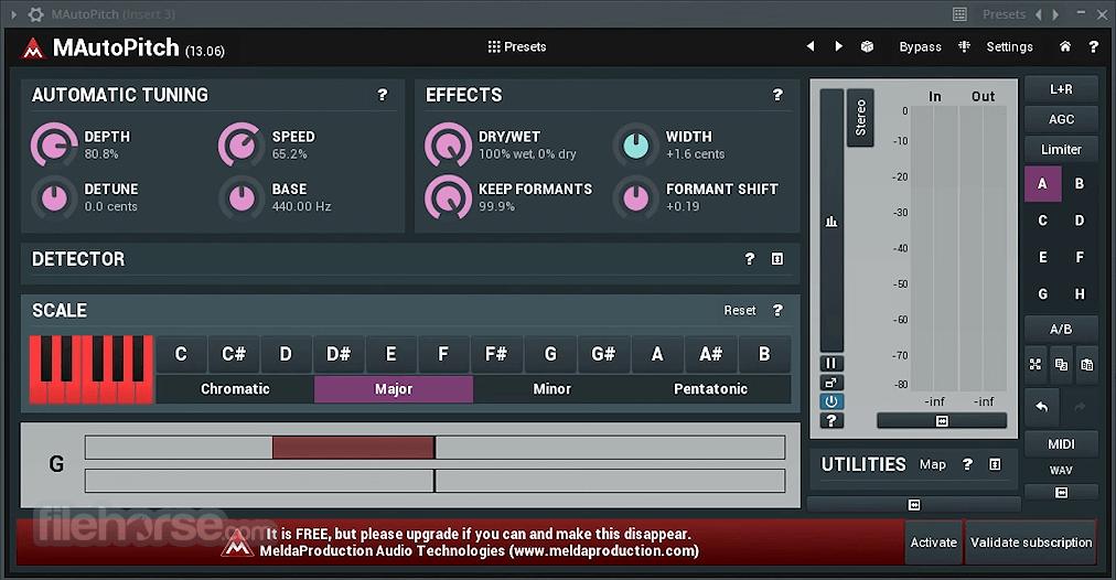 MAutoPitch 14.04 Screenshot 3