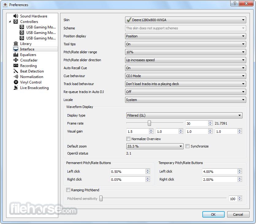 Mixxx 2.0.0 (32-bit) Captura de Pantalla 3