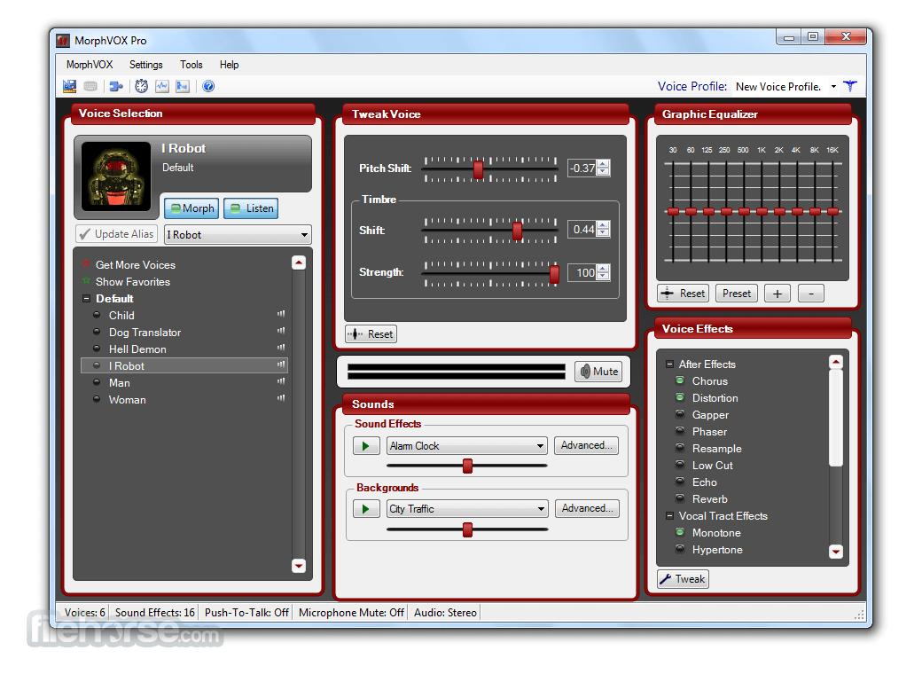 MorphVOX Pro 5.0.20 Screenshot 1