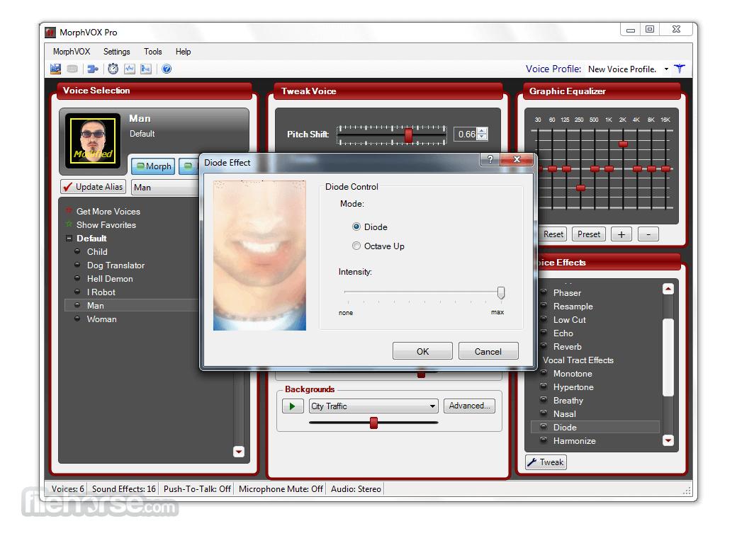 MorphVOX Pro 5.0.20 Screenshot 5