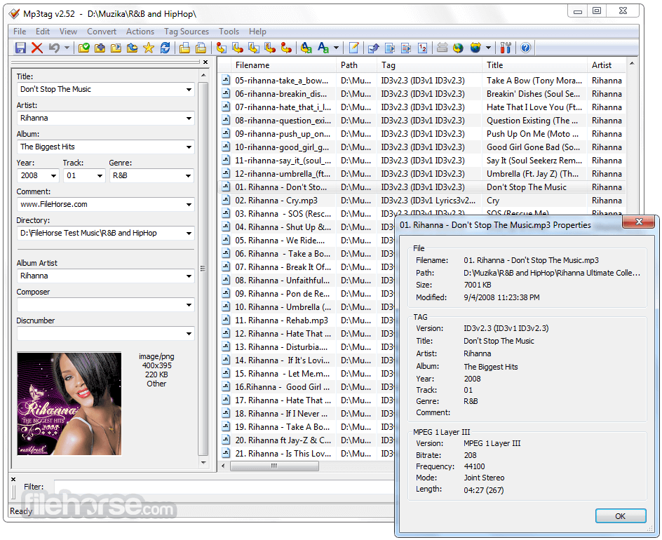 mp3tag 2 81 download for windows    filehorse com