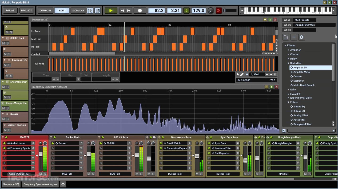 MuLab 8.7.6 (32-bit) Screenshot 4