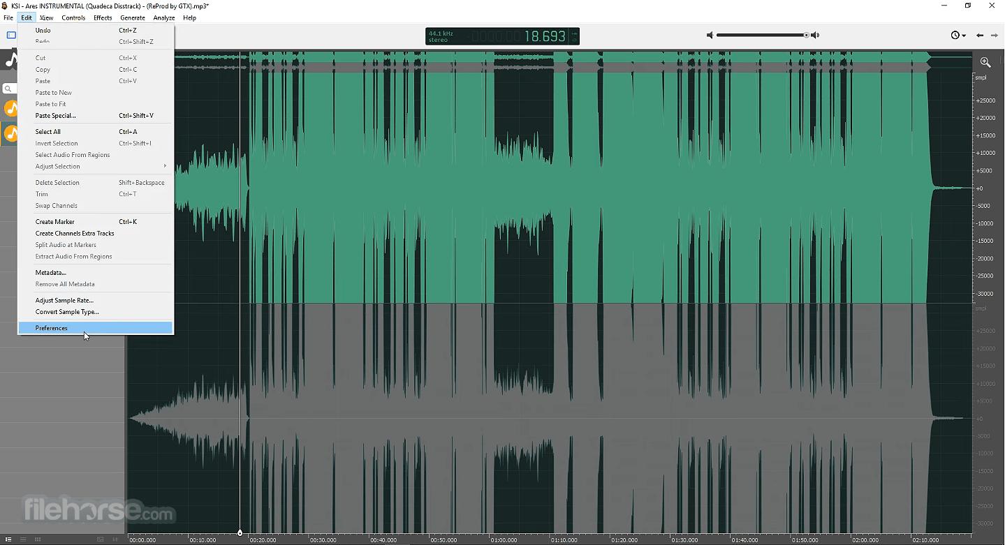 Ocenaudio 3.7.20 (64-bit) Screenshot 3