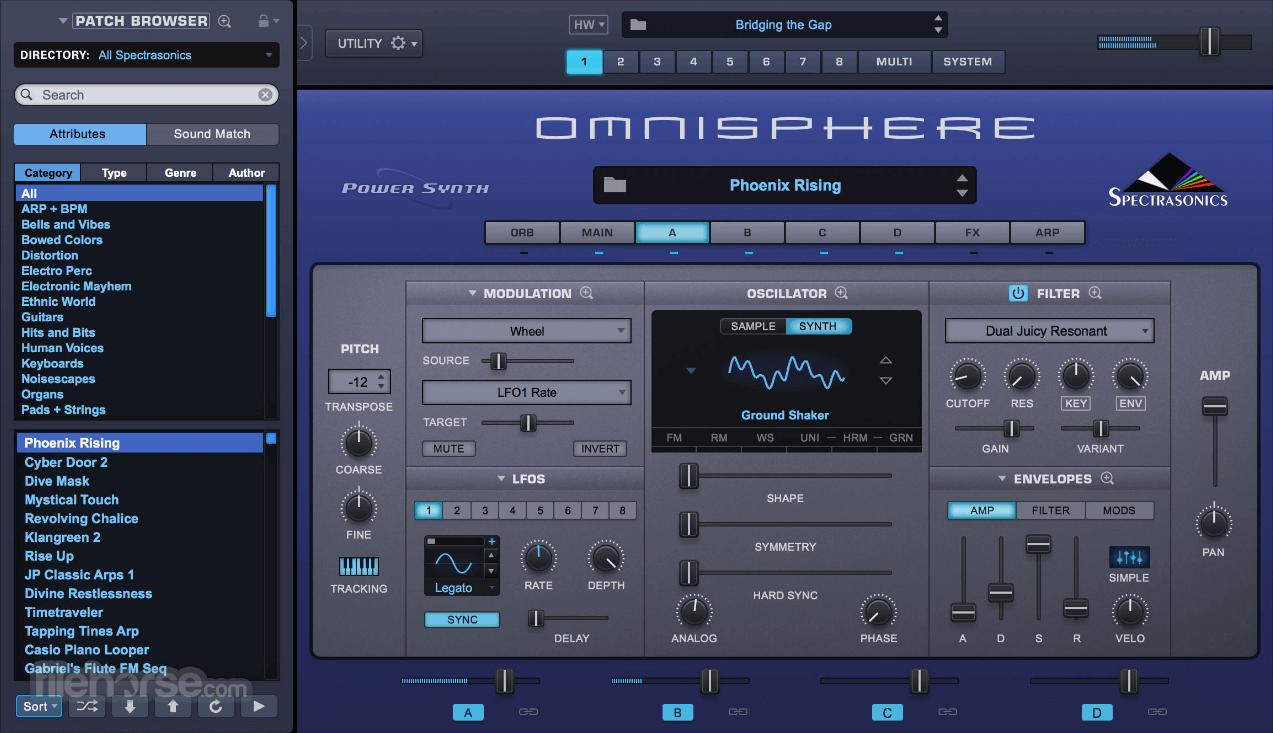 Omnisphere 2.6 Captura de Pantalla 1
