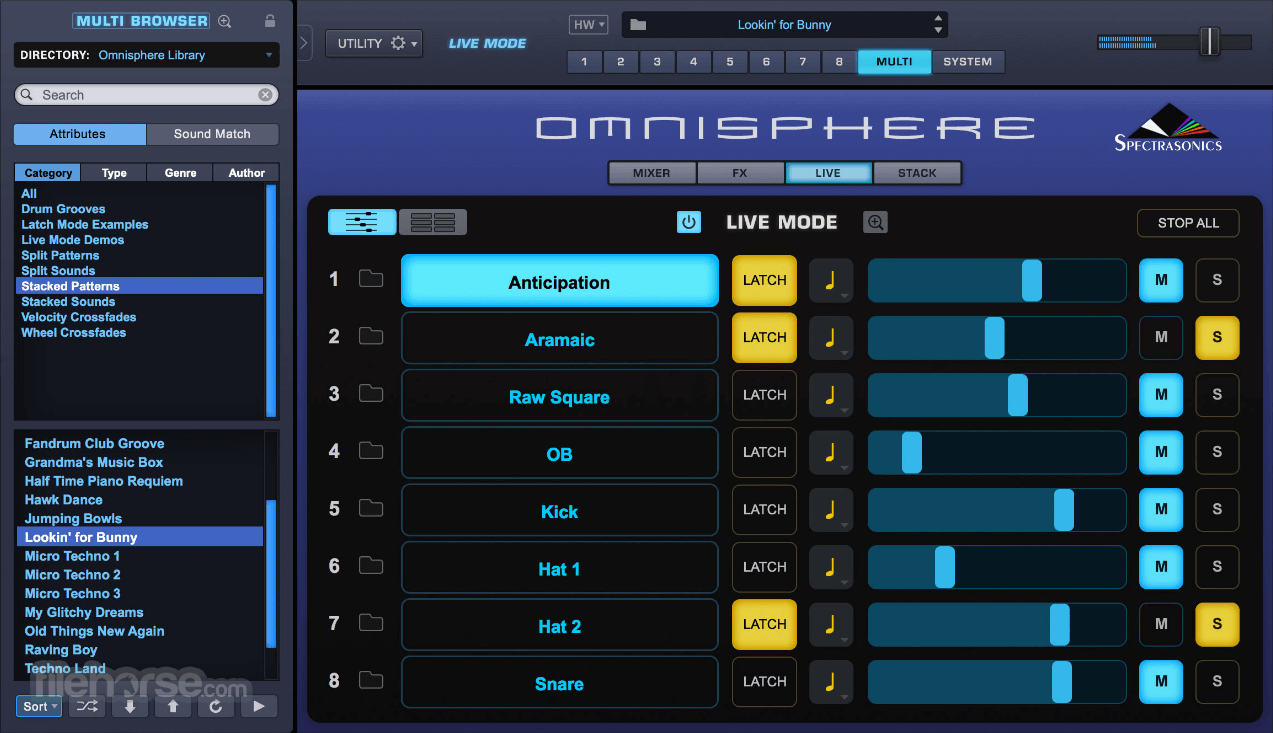 Omnisphere 2.6 Captura de Pantalla 3