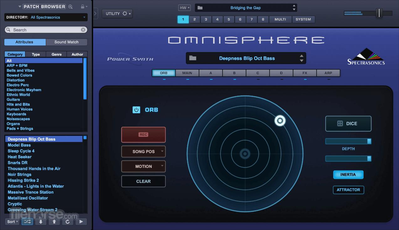 Omnisphere 2.6 Captura de Pantalla 4