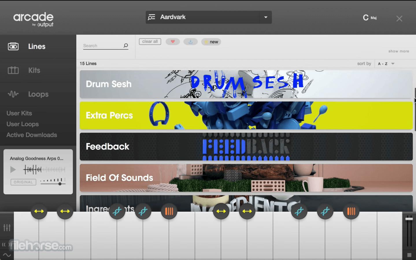 Output Arcade Screenshot 1