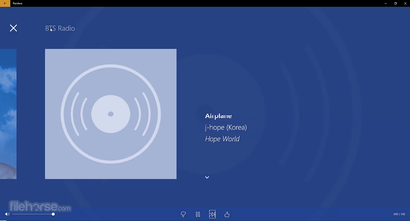 Pandora 13.0.39.1000 Captura de Pantalla 2