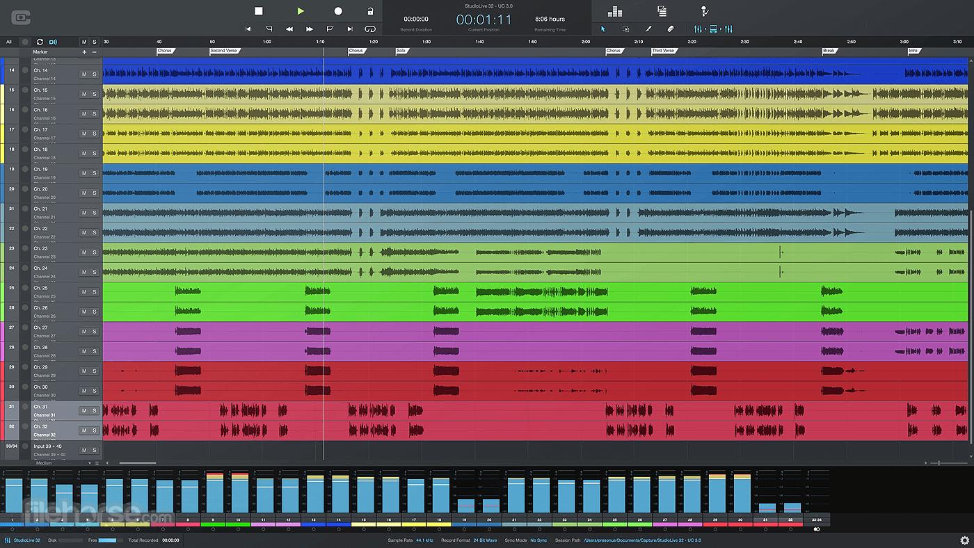 PreSonus Capture 3.0.4 Build 63149 Screenshot 1