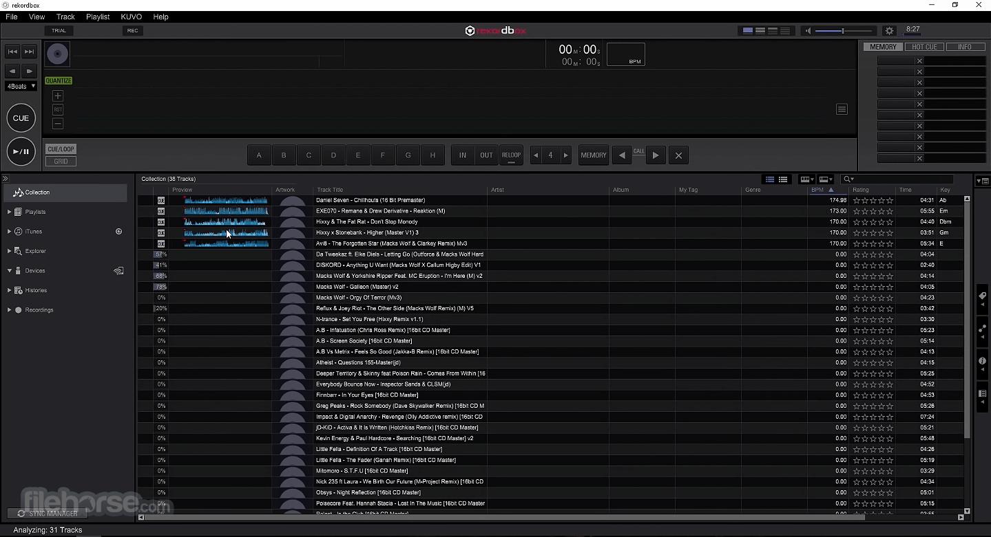 rekordbox 6.5.1 Captura de Pantalla 2