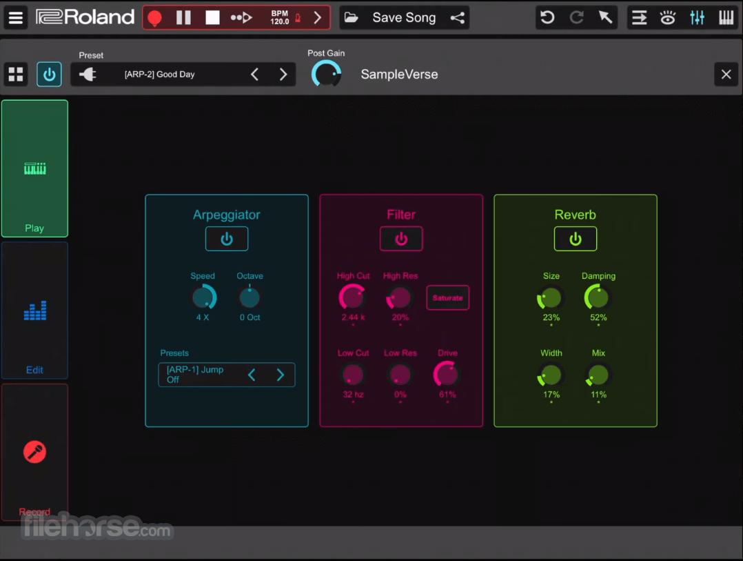 Roland Zenbeats 1.2.3.7949 Screenshot 5