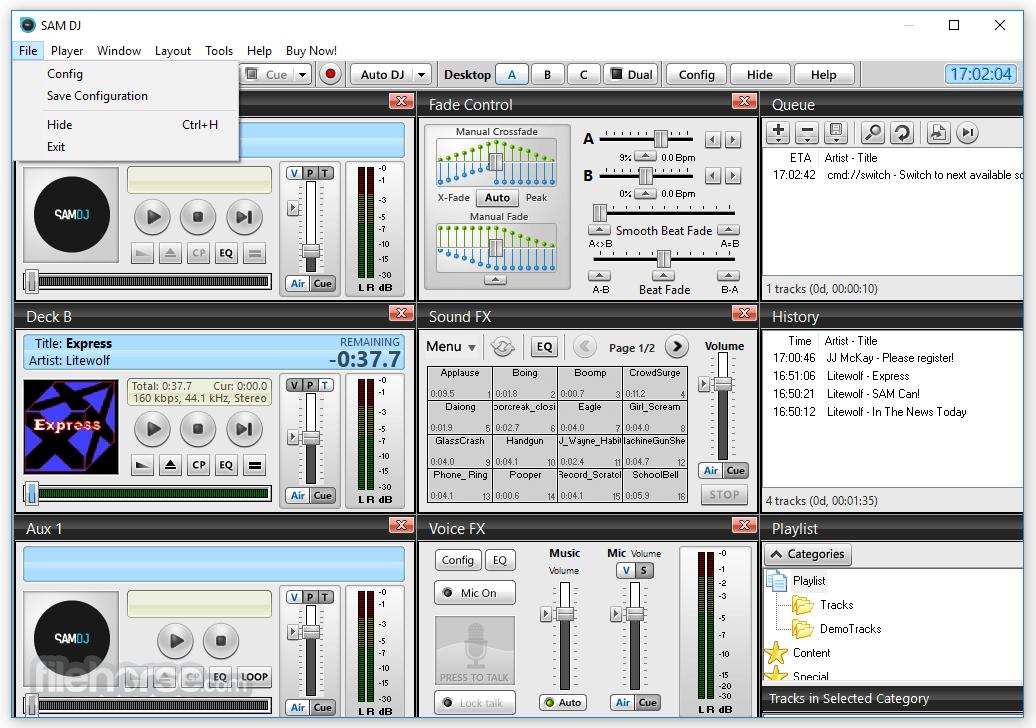 SAM DJ 2021.4 (64-bit) Captura de Pantalla 2