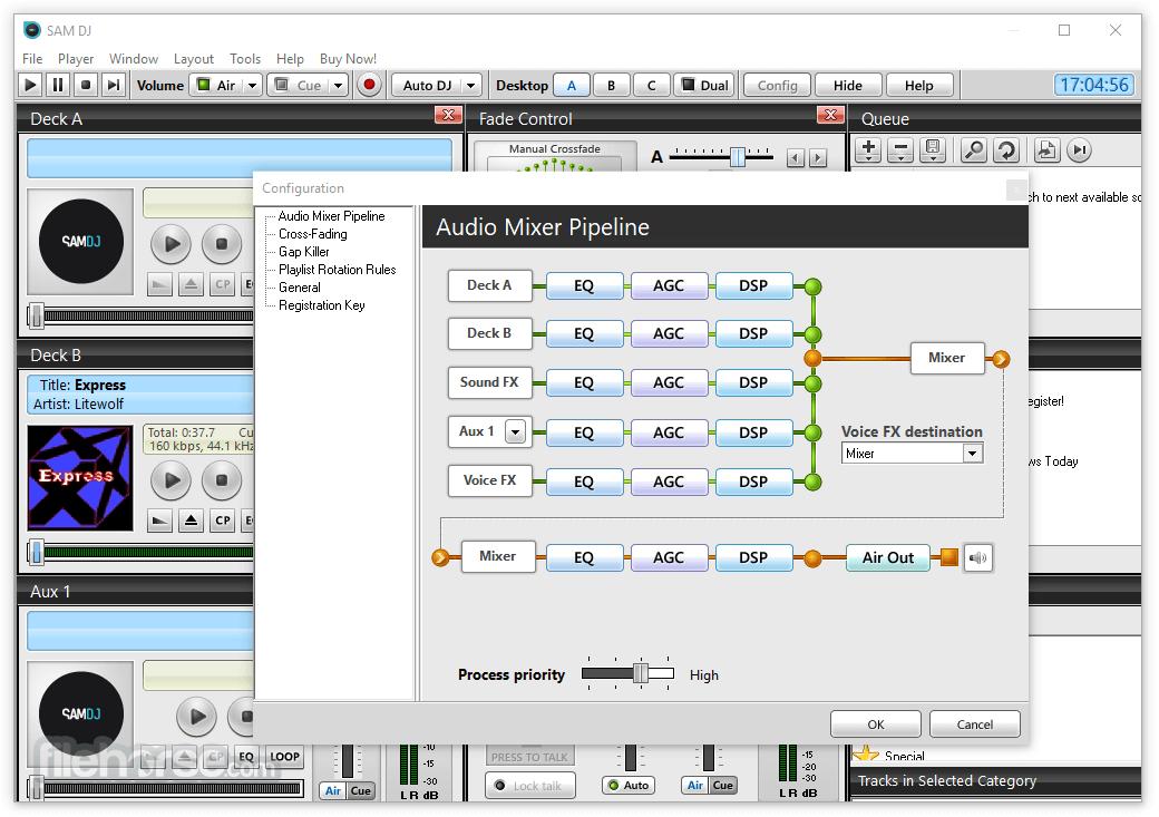 SAM DJ 2021.4 (64-bit) Captura de Pantalla 5