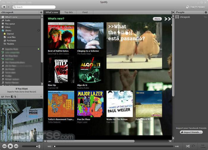 Spotify 1.1.44.538 Captura de Pantalla 3