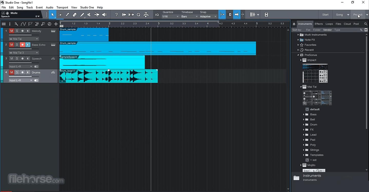 Studio One Professional 5.0.1 Screenshot 1
