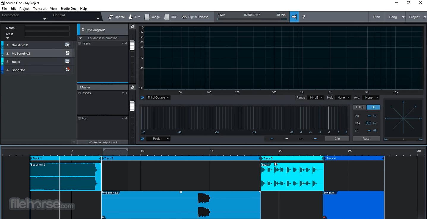 Studio One Professional 5.0.1 Screenshot 2