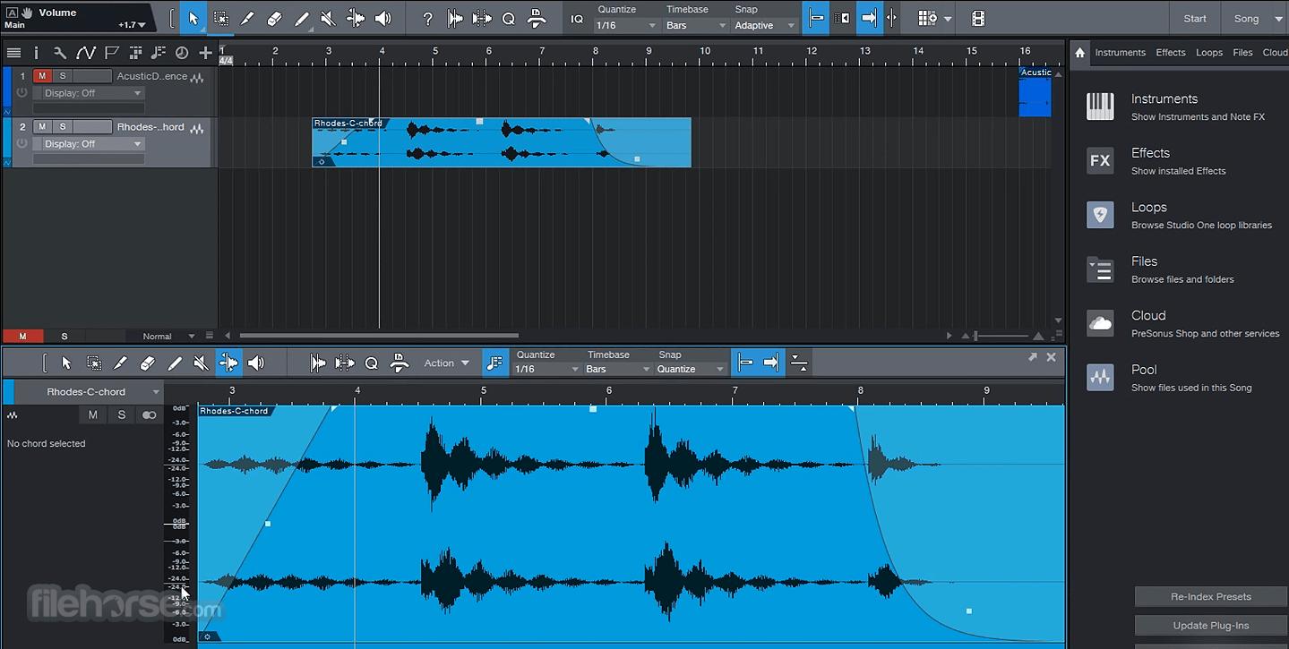 Studio One Professional 5.0.1 Screenshot 4