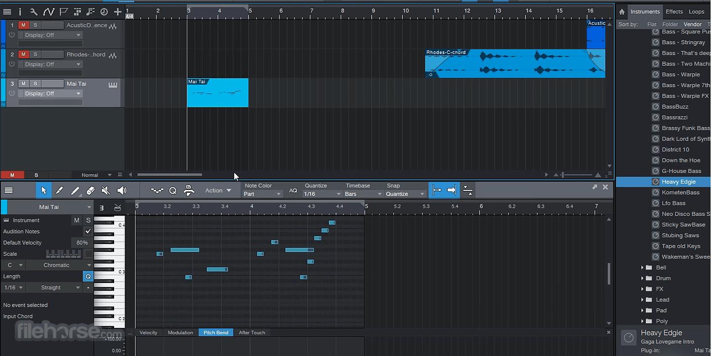 Studio One Professional 5.0.1 Screenshot 5